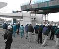 加古川中央JCT建設現場視察