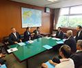 国会議員、財務省、国土交通省等に要望書を提出(平成28-年8-月23-日)